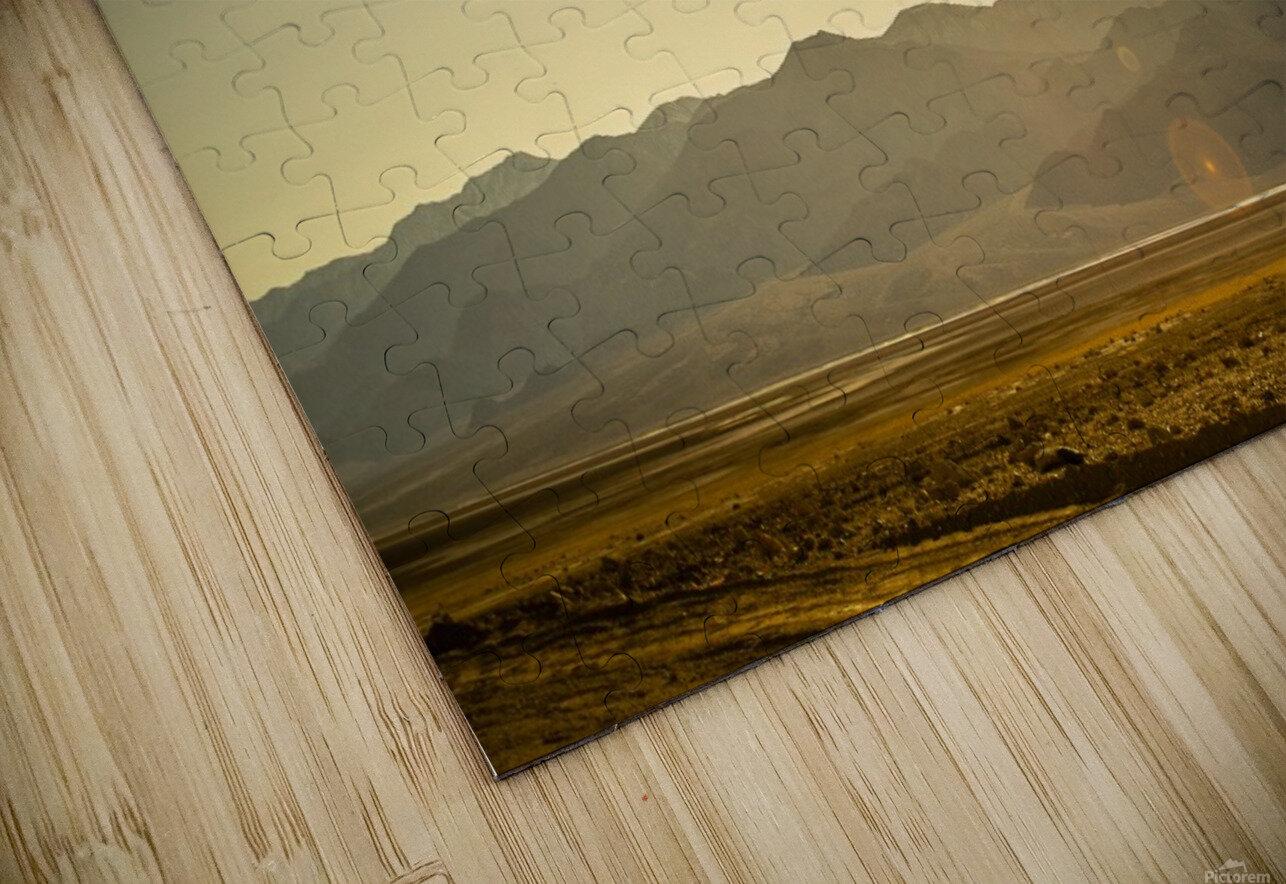 Desert Sun  HD Sublimation Metal print