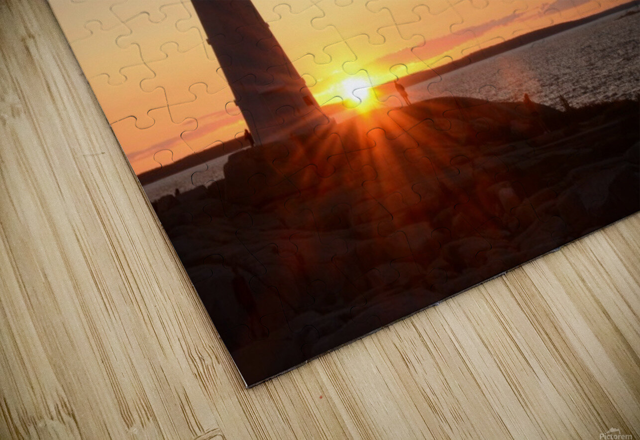 Light House  HD Sublimation Metal print