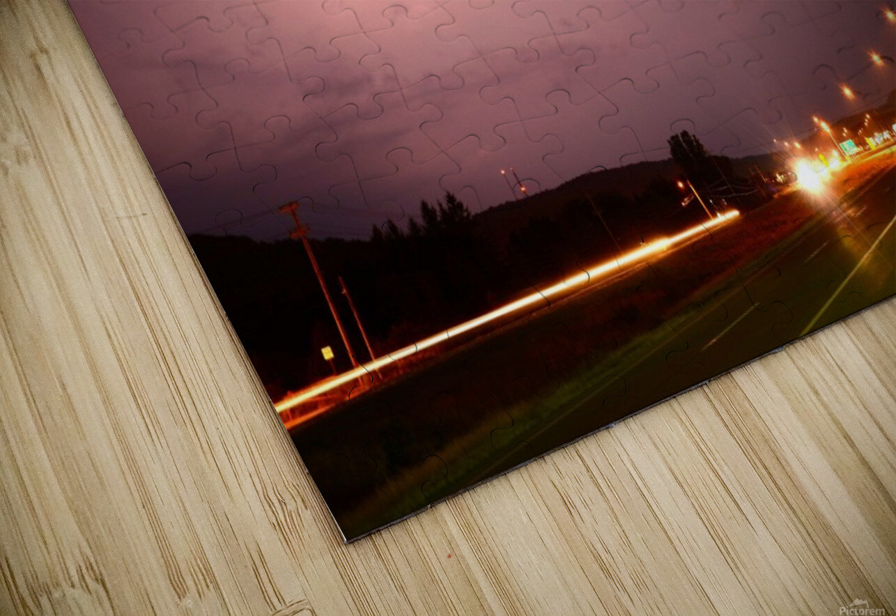 Lightning Catch HD Sublimation Metal print