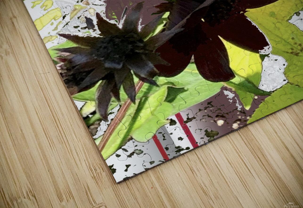 Mixed Floral Arrangement 200719 HD Sublimation Metal print