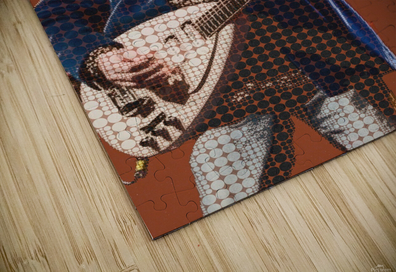 Learning To Fly   Tom Petty & the Heartbreakers HD Sublimation Metal print
