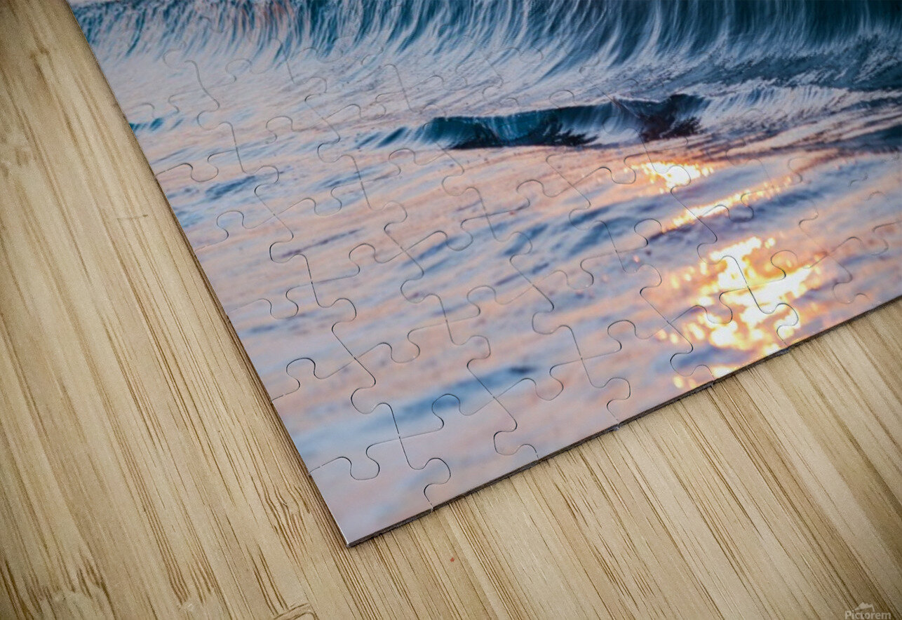 Smooth Wave  HD Sublimation Metal print