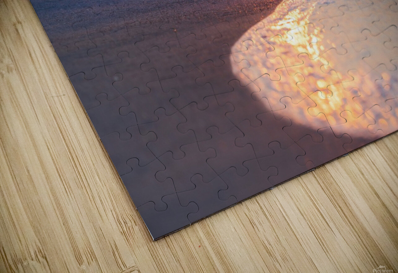 Seashore Bliss HD Sublimation Metal print
