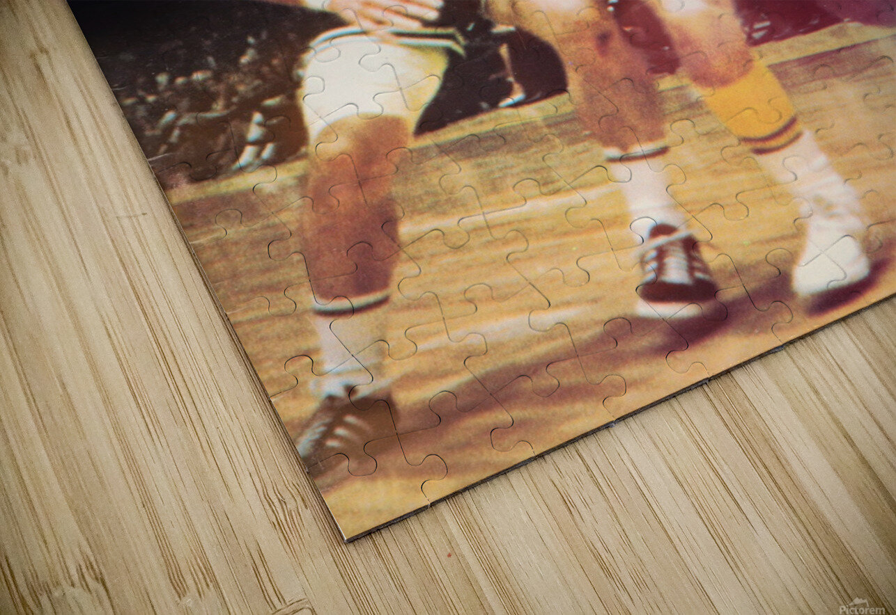 1969 los angeles la lakers jerry west poster HD Sublimation Metal print