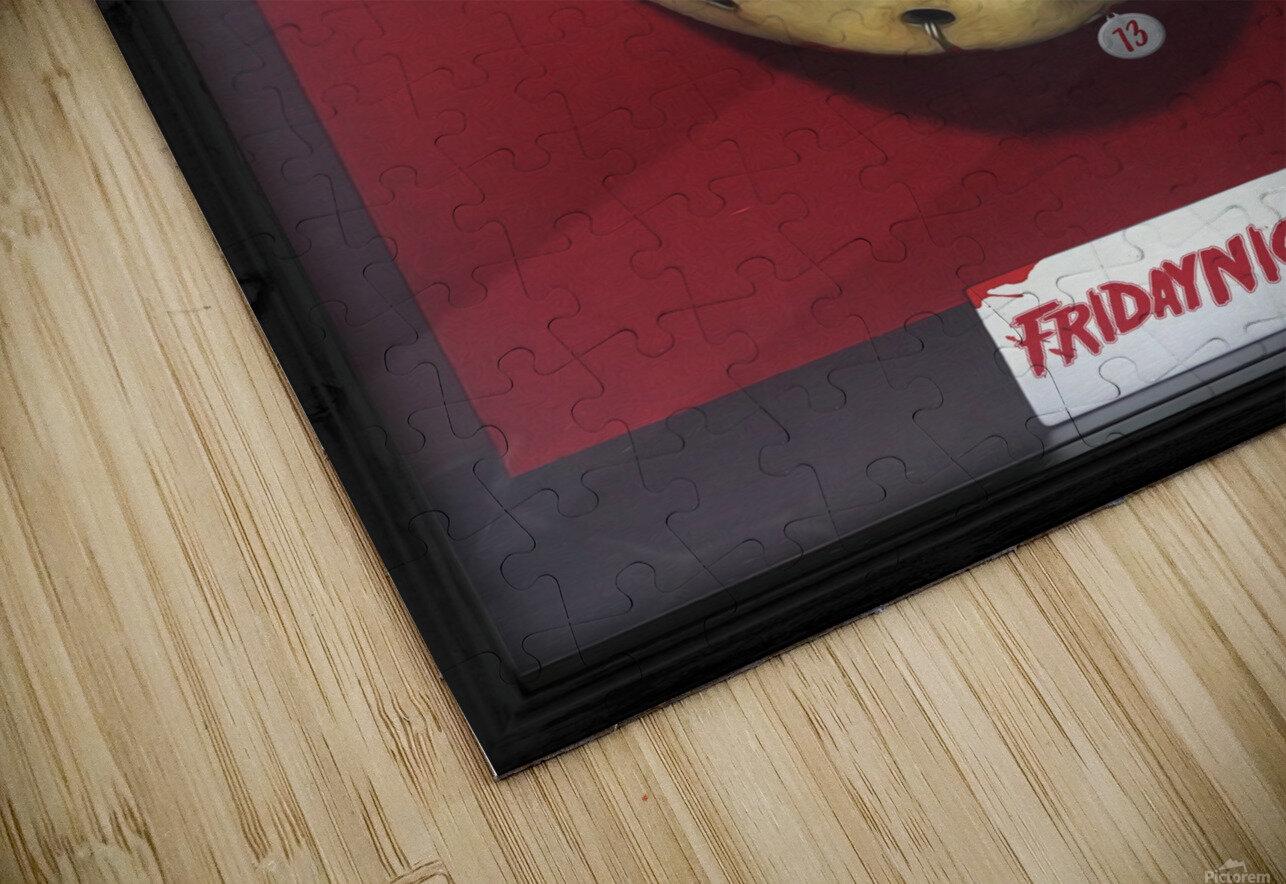 Jason HD Sublimation Metal print