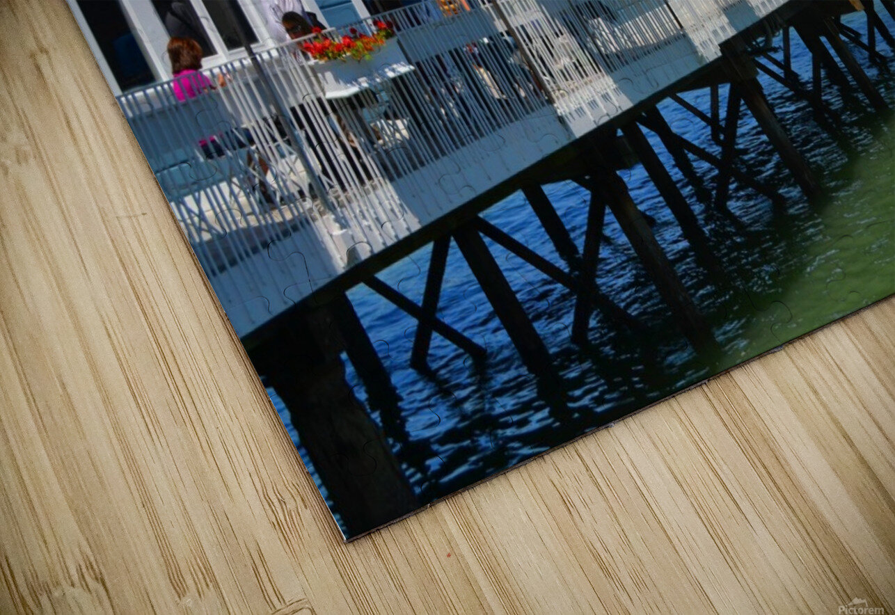 River House HD Sublimation Metal print