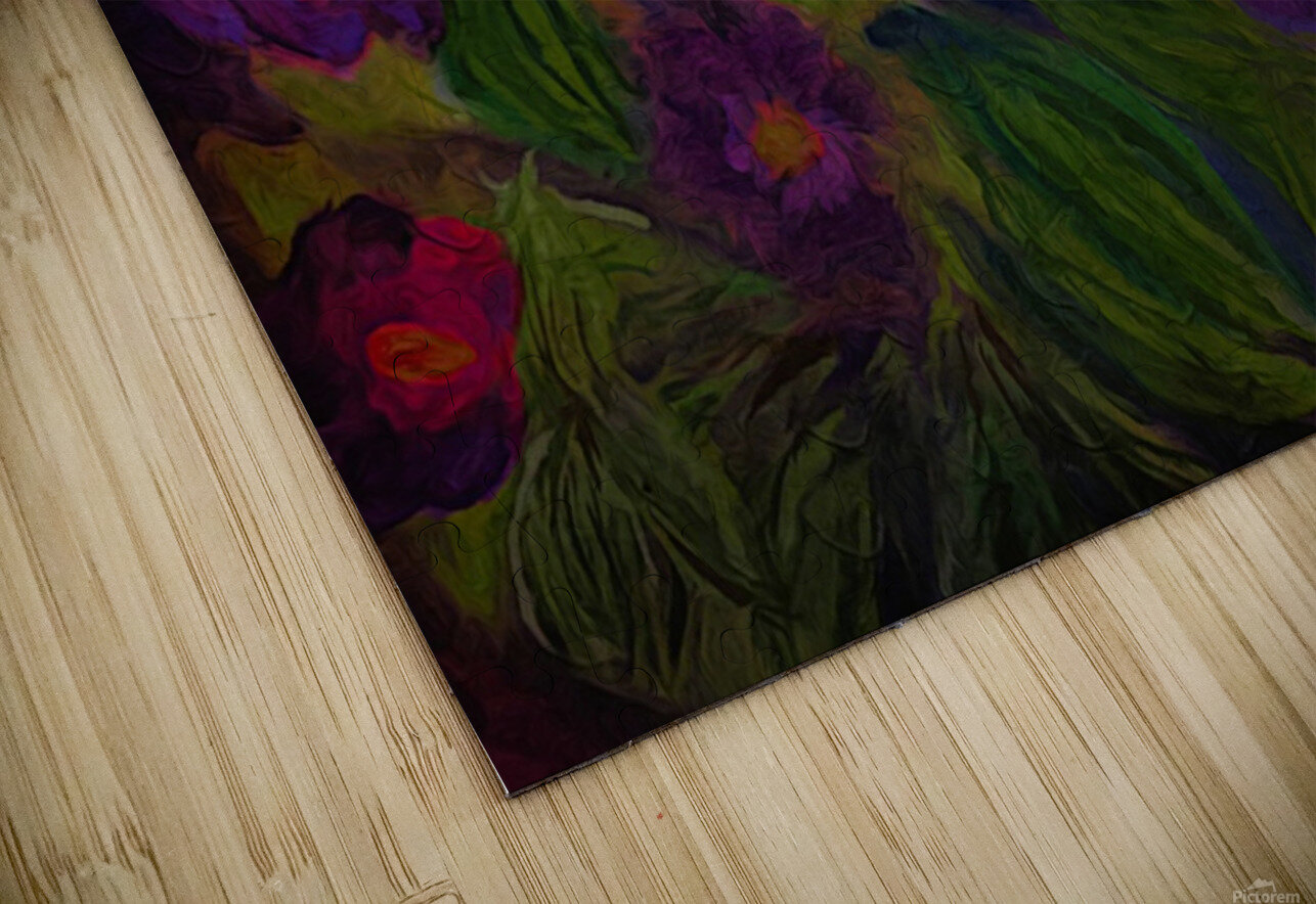 Purple Favorites HD Sublimation Metal print