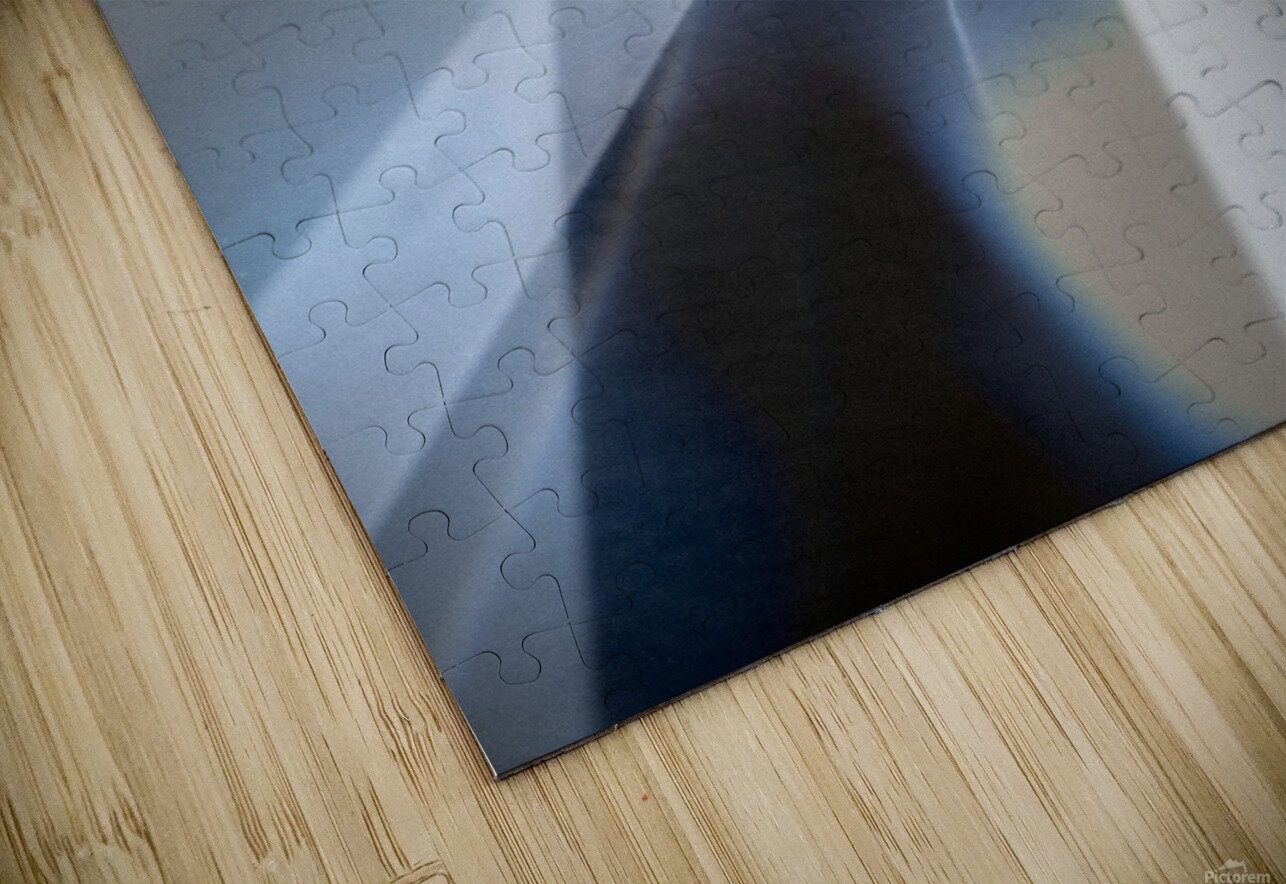 Abstract 1 HD Sublimation Metal print