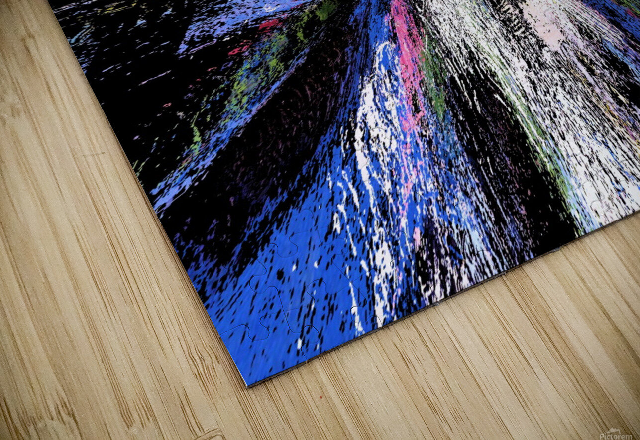 Looking inside out HD Sublimation Metal print