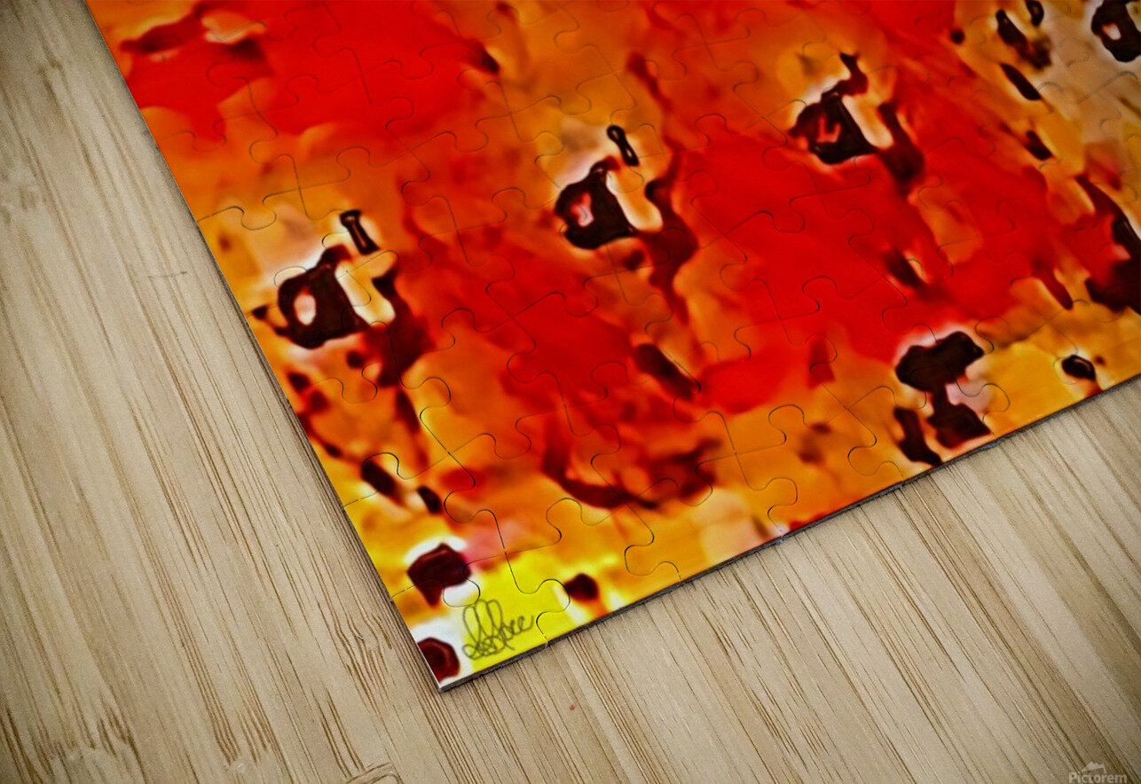 Nature The  Art of Blushing HD Sublimation Metal print