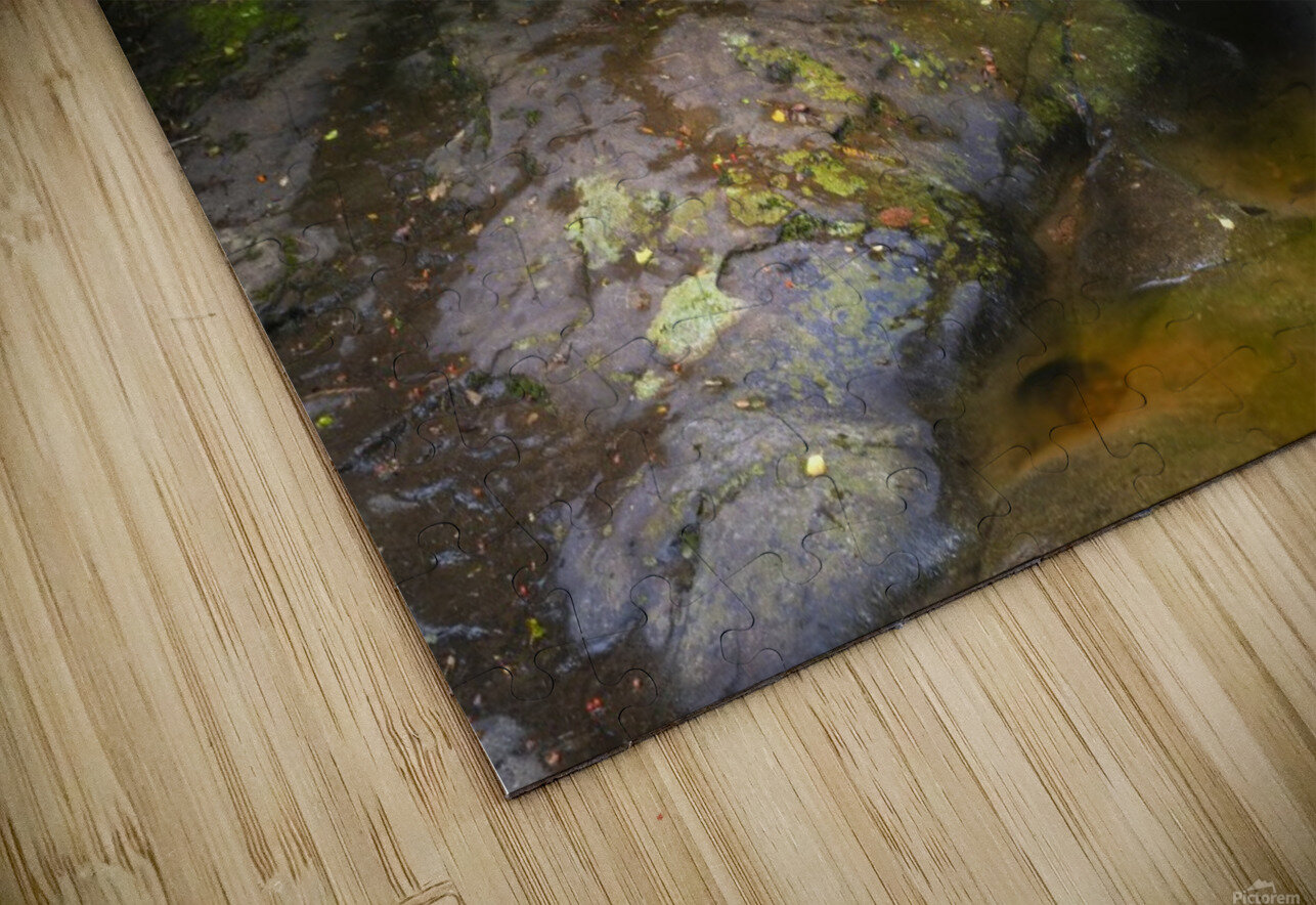 The colours of Blaen y Glyn  HD Sublimation Metal print