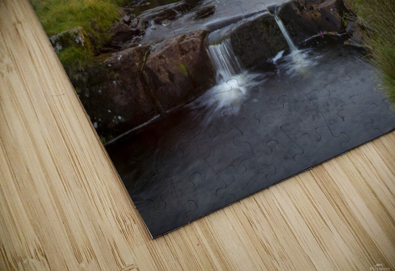 River Tawe sunset HD Sublimation Metal print