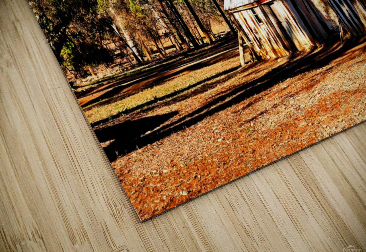 Old Wilpena Station  HD Sublimation Metal print