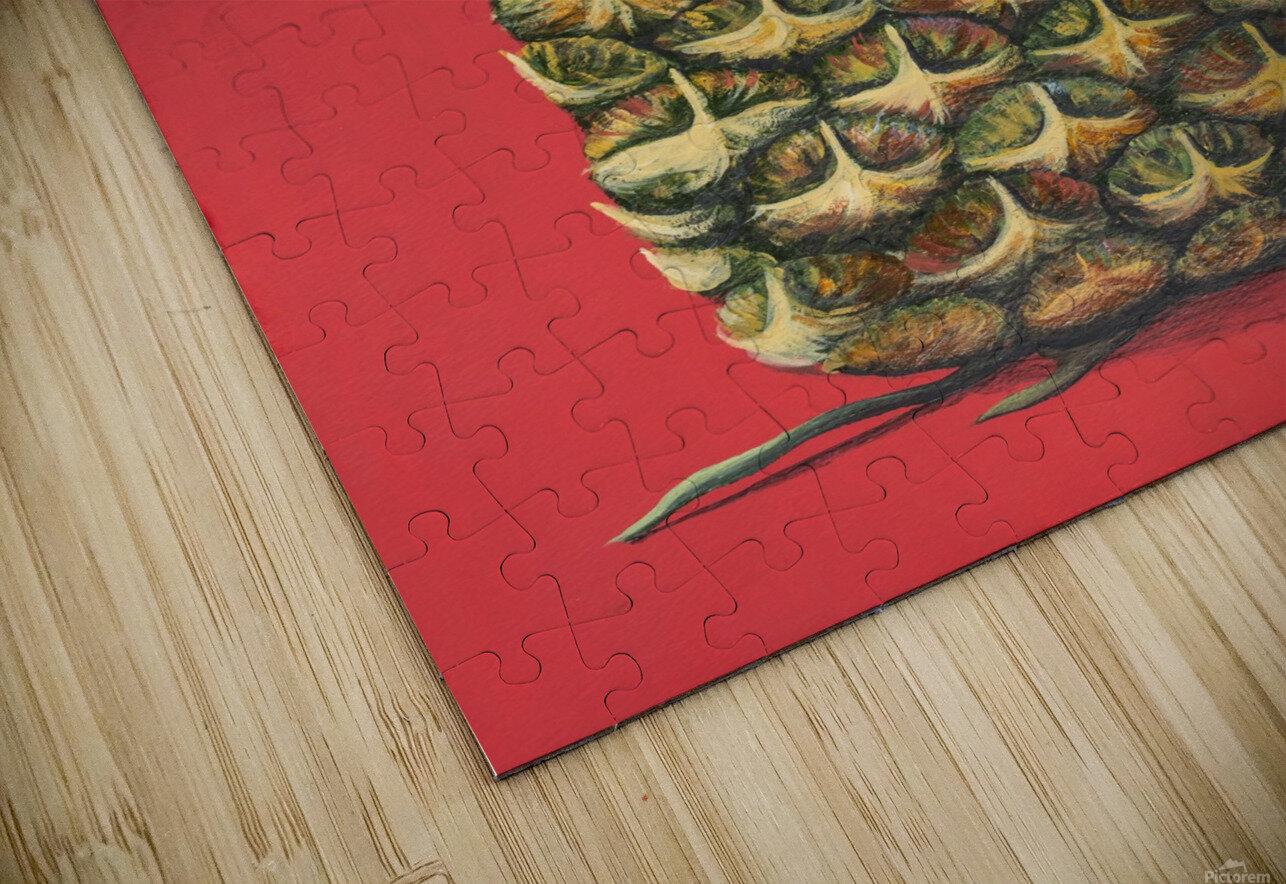 Pineapple  HD Sublimation Metal print