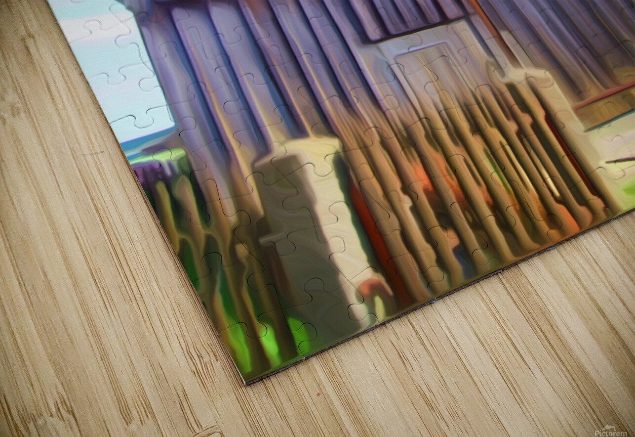 FMB2 - FARM LIFE HD Sublimation Metal print