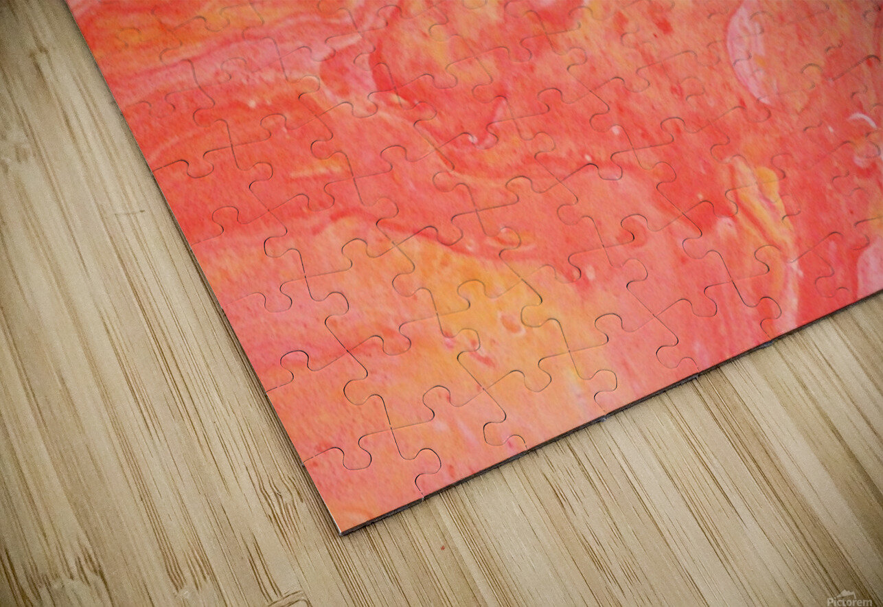 Peachy HD Sublimation Metal print