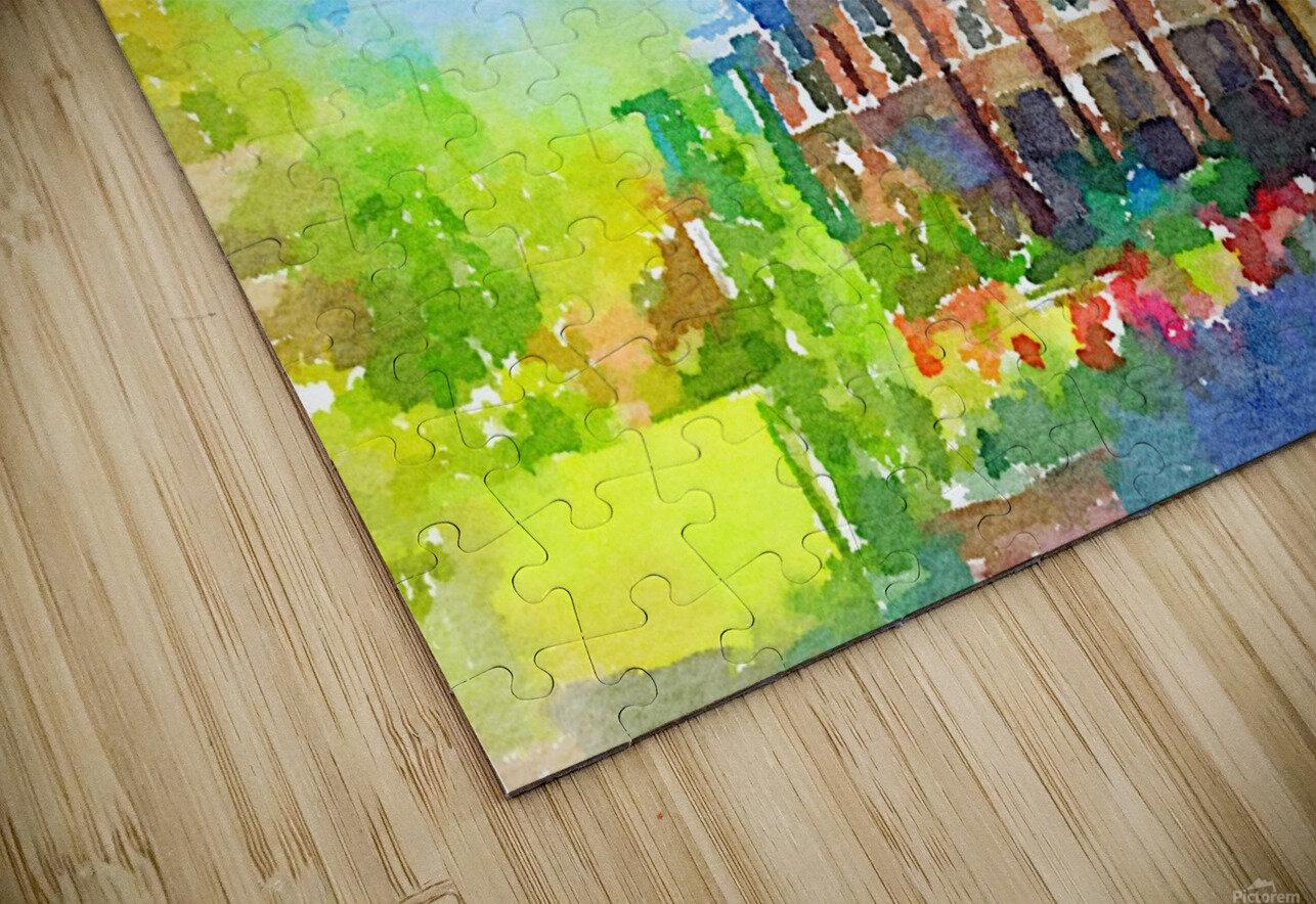 Pembroke collegeCambridge HD Sublimation Metal print