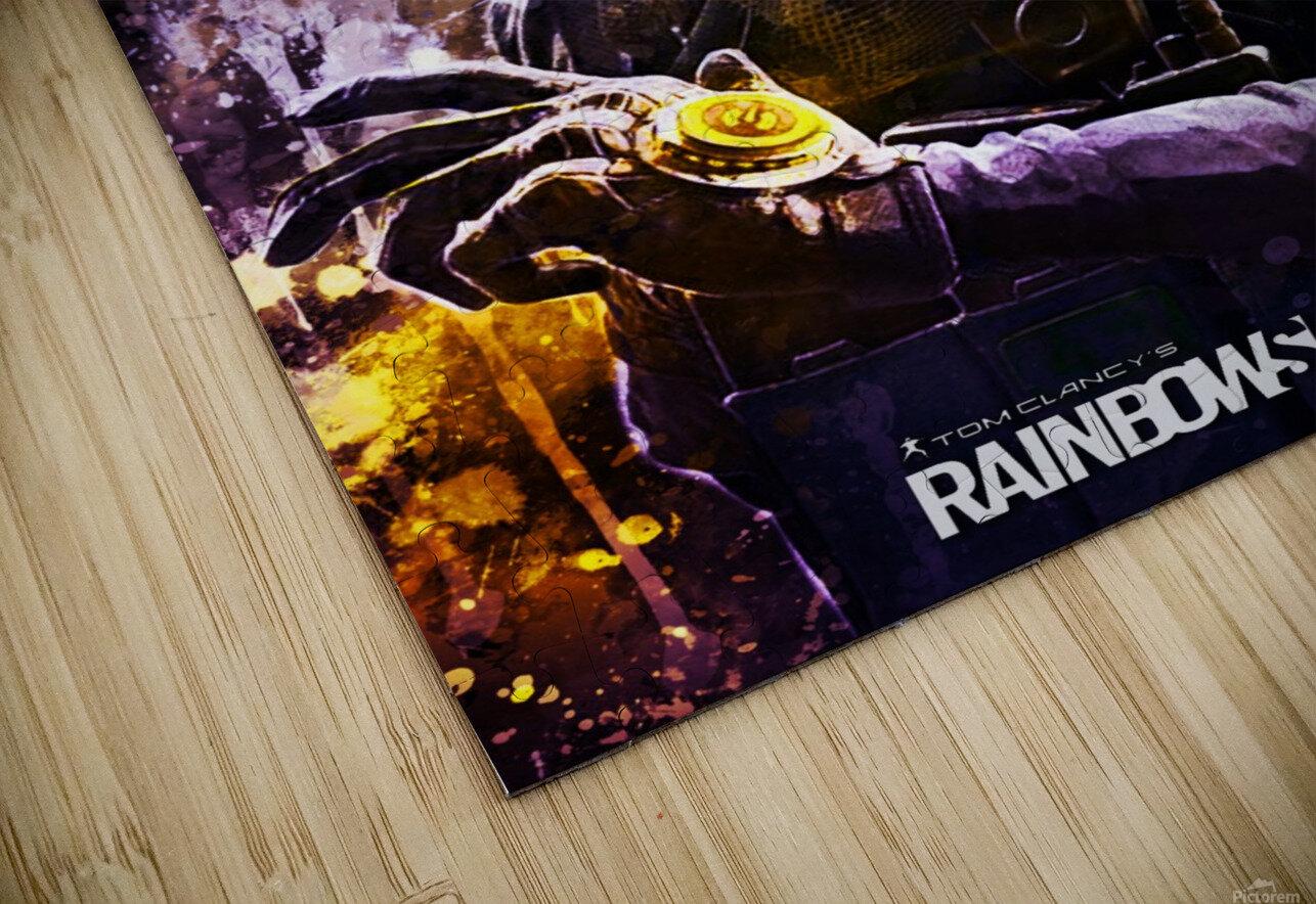 Rainbow Six Siege HD Sublimation Metal print