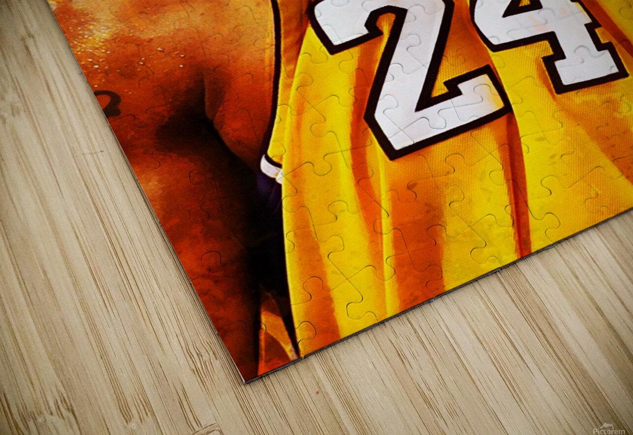 Kobe Bryant HD Sublimation Metal print