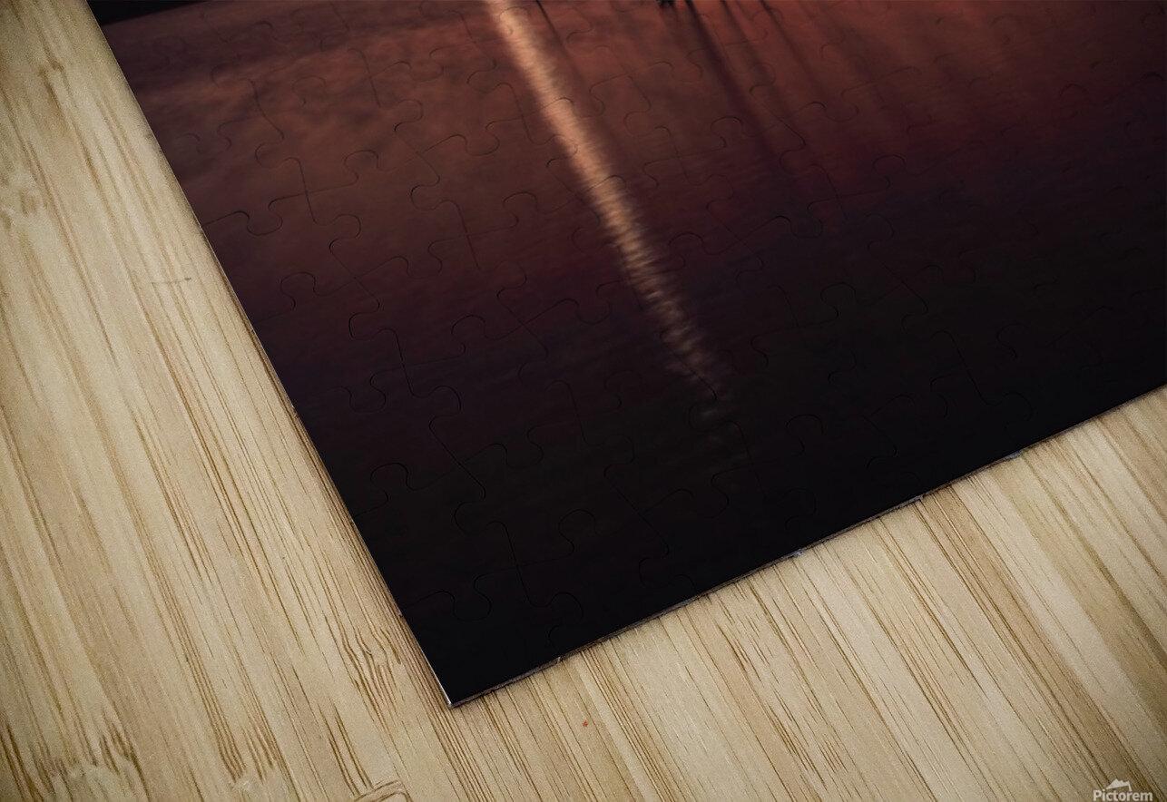 Lake Wellington Sunset HD Sublimation Metal print