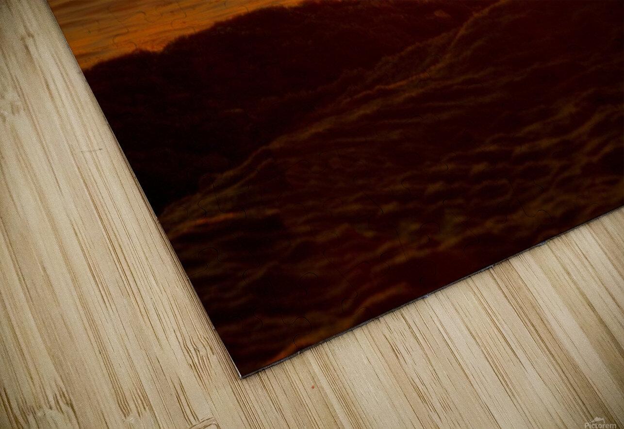 Lake Michigan Sunrise  HD Sublimation Metal print