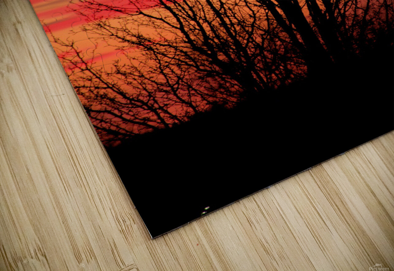 Missouri Sunset part 1 HD Sublimation Metal print