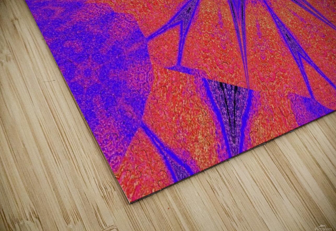 Lotus And Sunshine 2 HD Sublimation Metal print