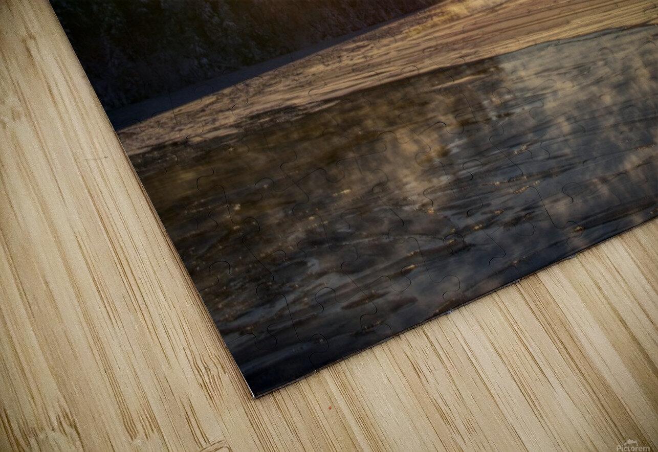 lac Sebastien HD Sublimation Metal print