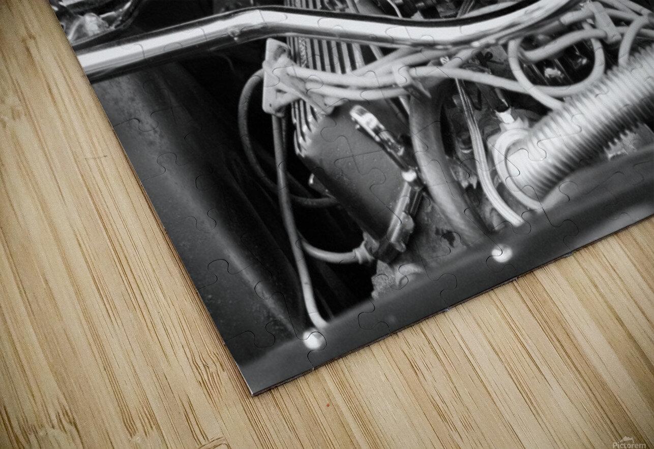 351 Mustang HD Sublimation Metal print