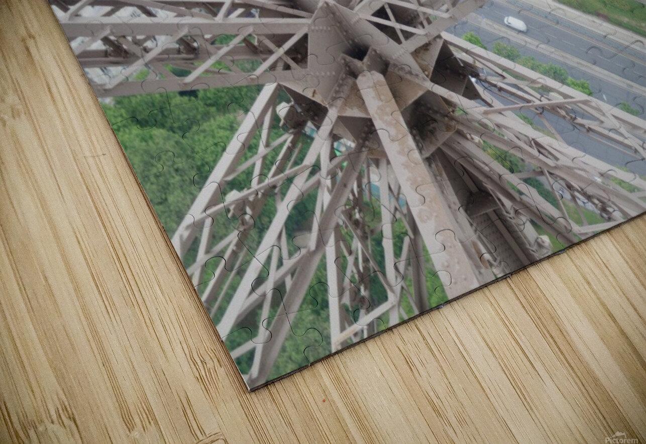 Tour Eiffel HD Sublimation Metal print