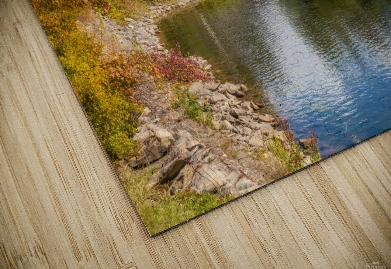 Amqui Pont Beausejour 2 Impression de sublimation métal HD
