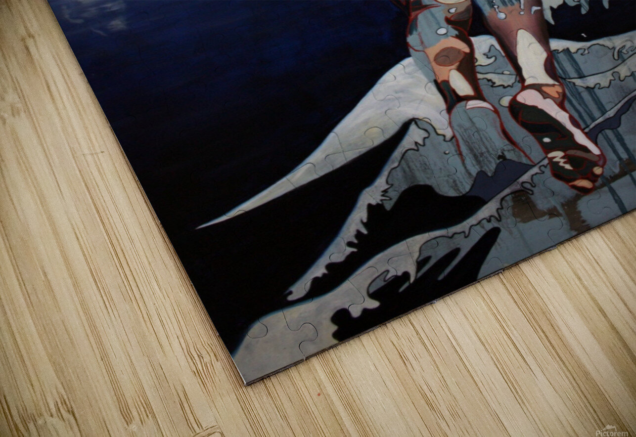 Gone Swimming HD Sublimation Metal print