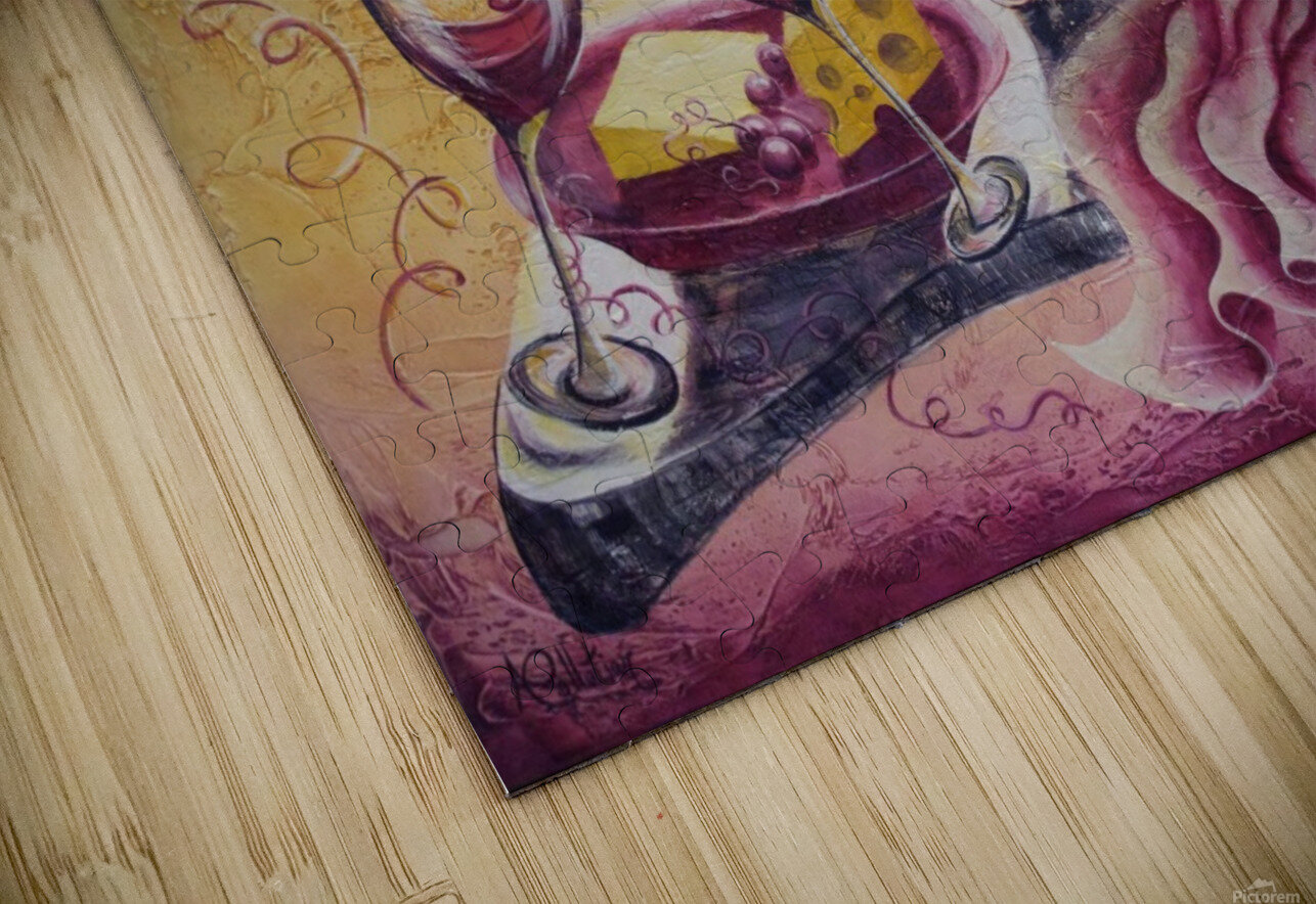 A pile of fun HD Sublimation Metal print