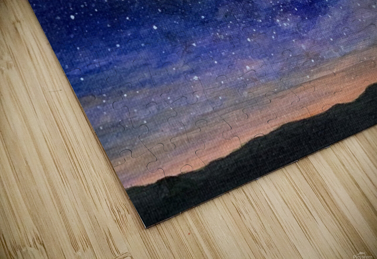 Stargazer HD Sublimation Metal print