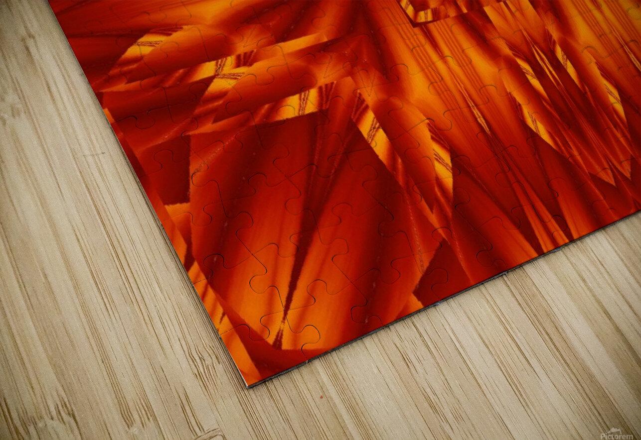 Fire Flowers 190 HD Sublimation Metal print
