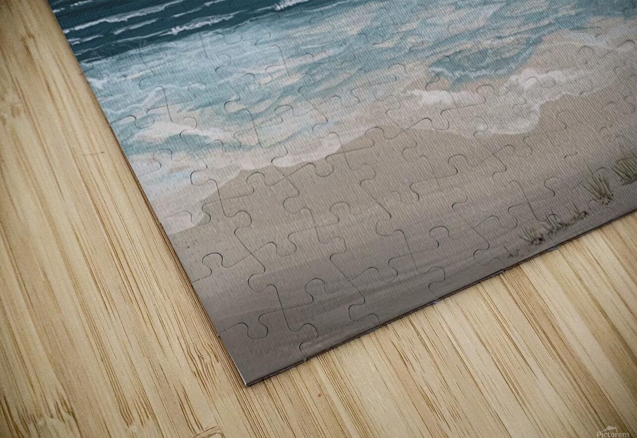 Ocean side HD Sublimation Metal print