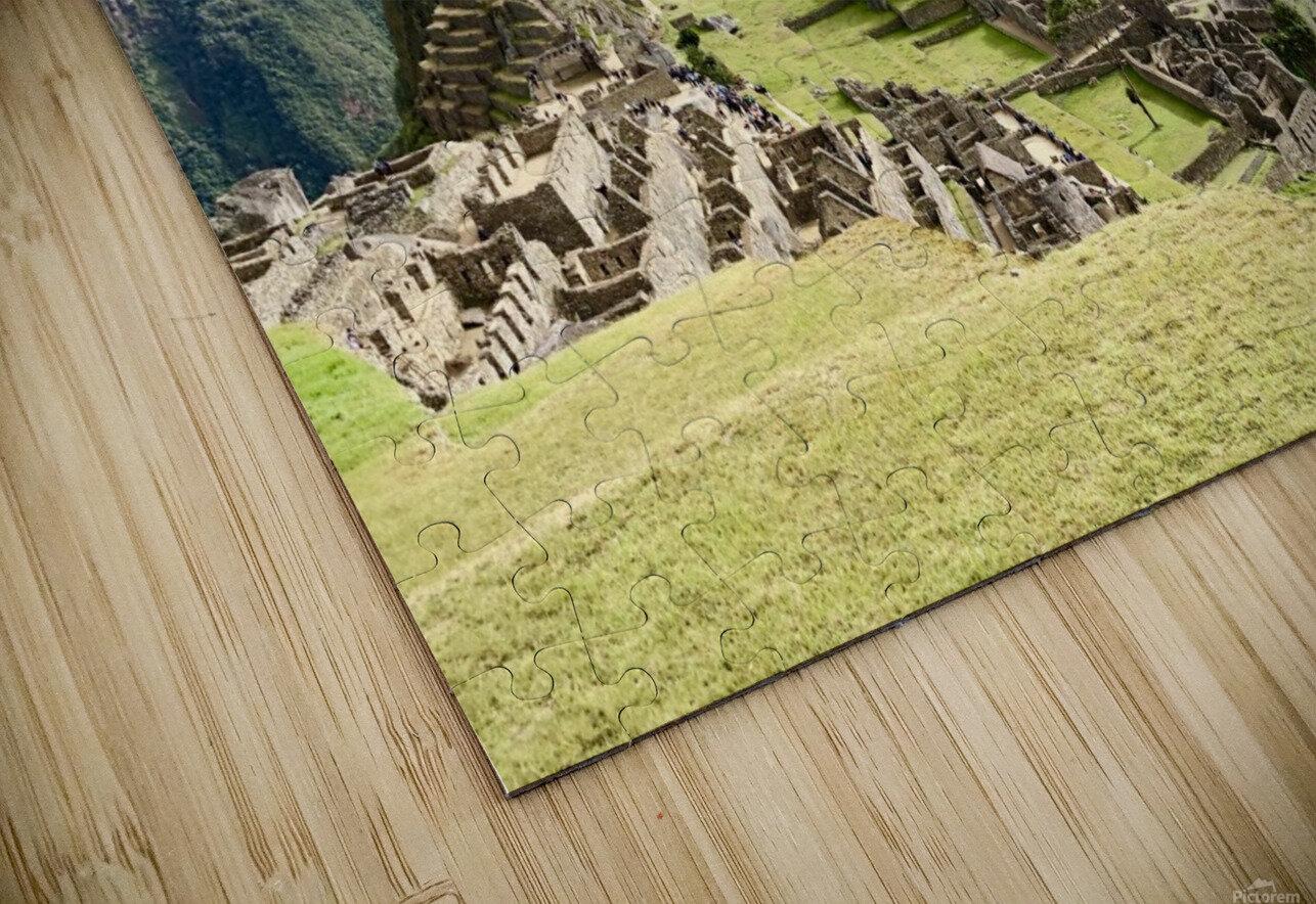 The Lost Citadel HD Sublimation Metal print