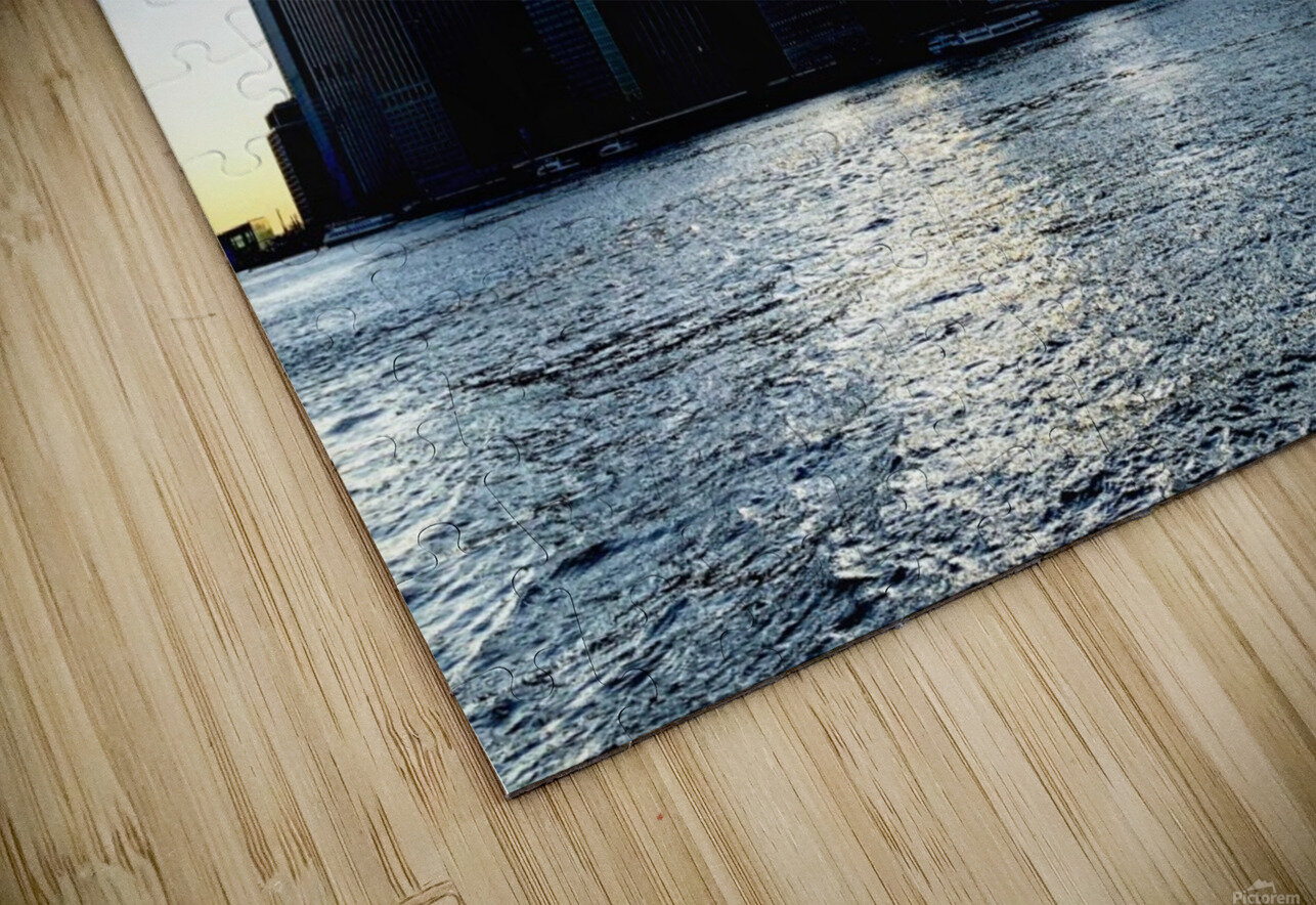 Before the Lights Come On HD Sublimation Metal print
