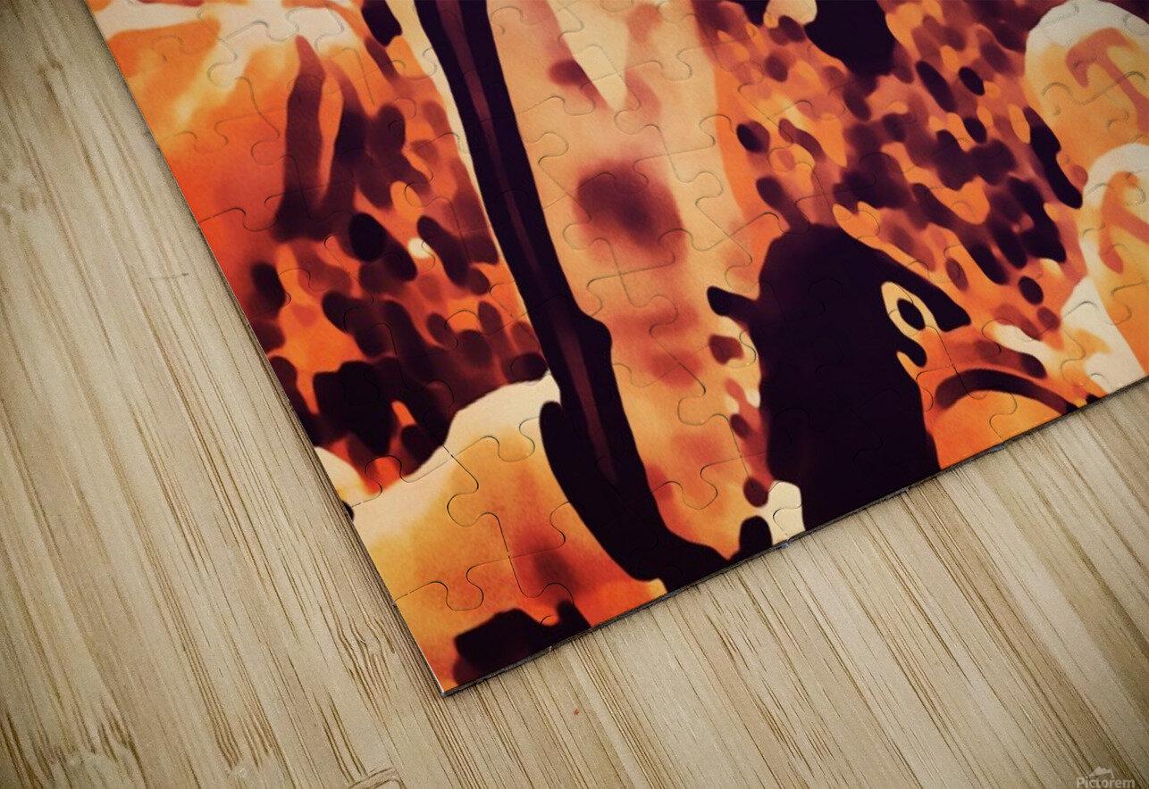 1982 Bo Jackson Tennessee Dive HD Sublimation Metal print