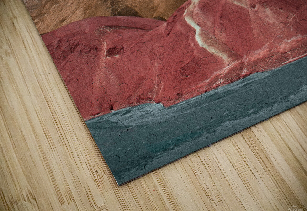 Colorful Danxia HD Sublimation Metal print