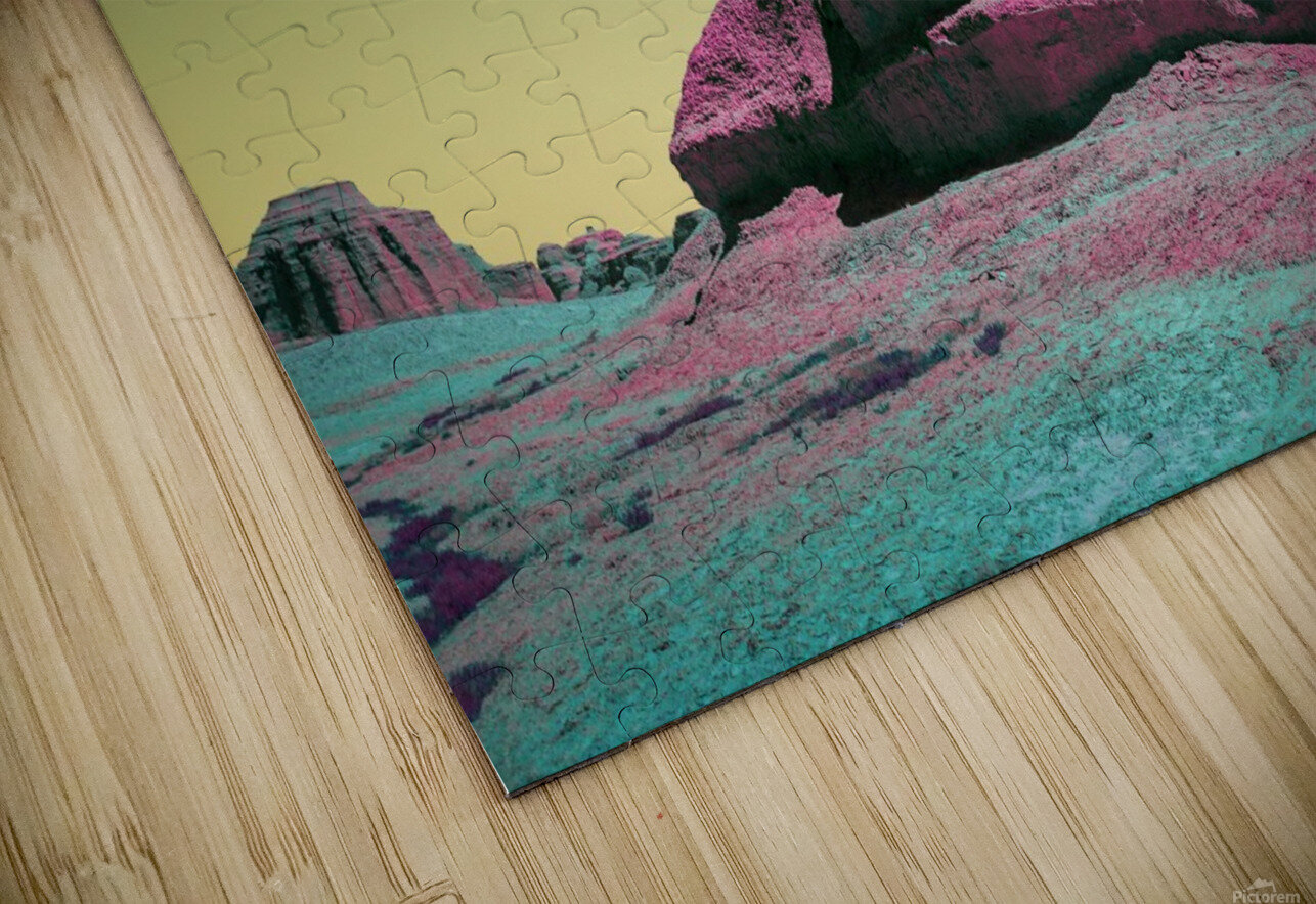 Ghost City HD Sublimation Metal print