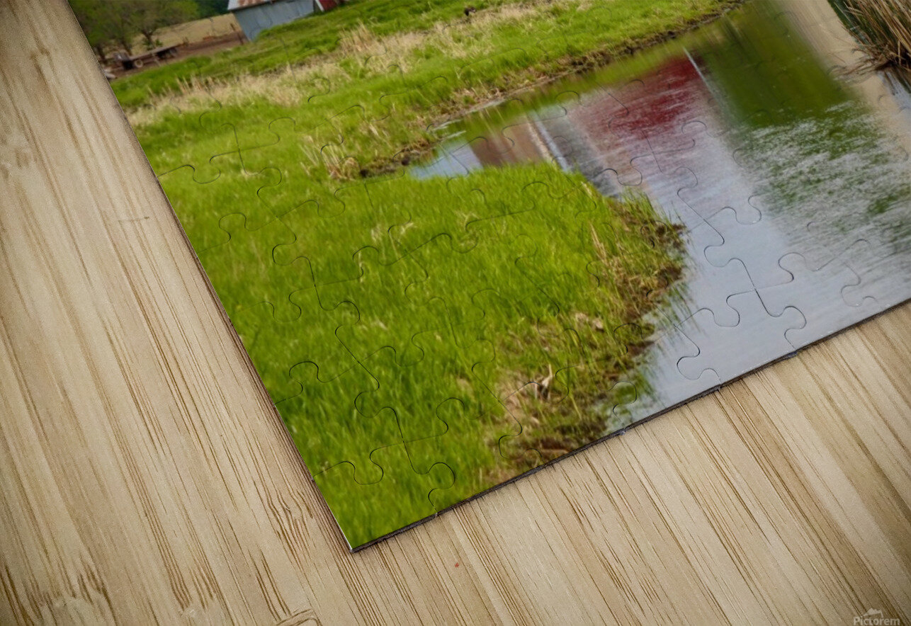 Country Farm HD Sublimation Metal print