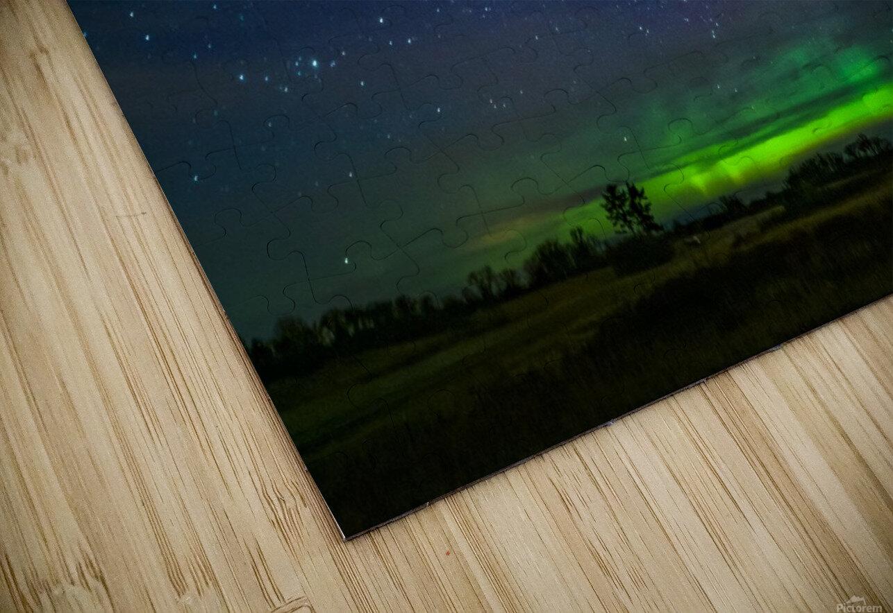 Northern Lights MN HD Sublimation Metal print