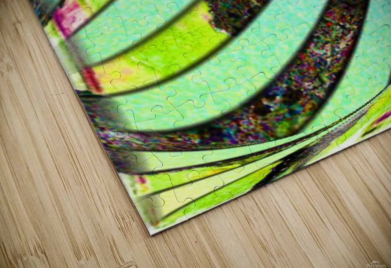 Yipes Its stripes HD Sublimation Metal print