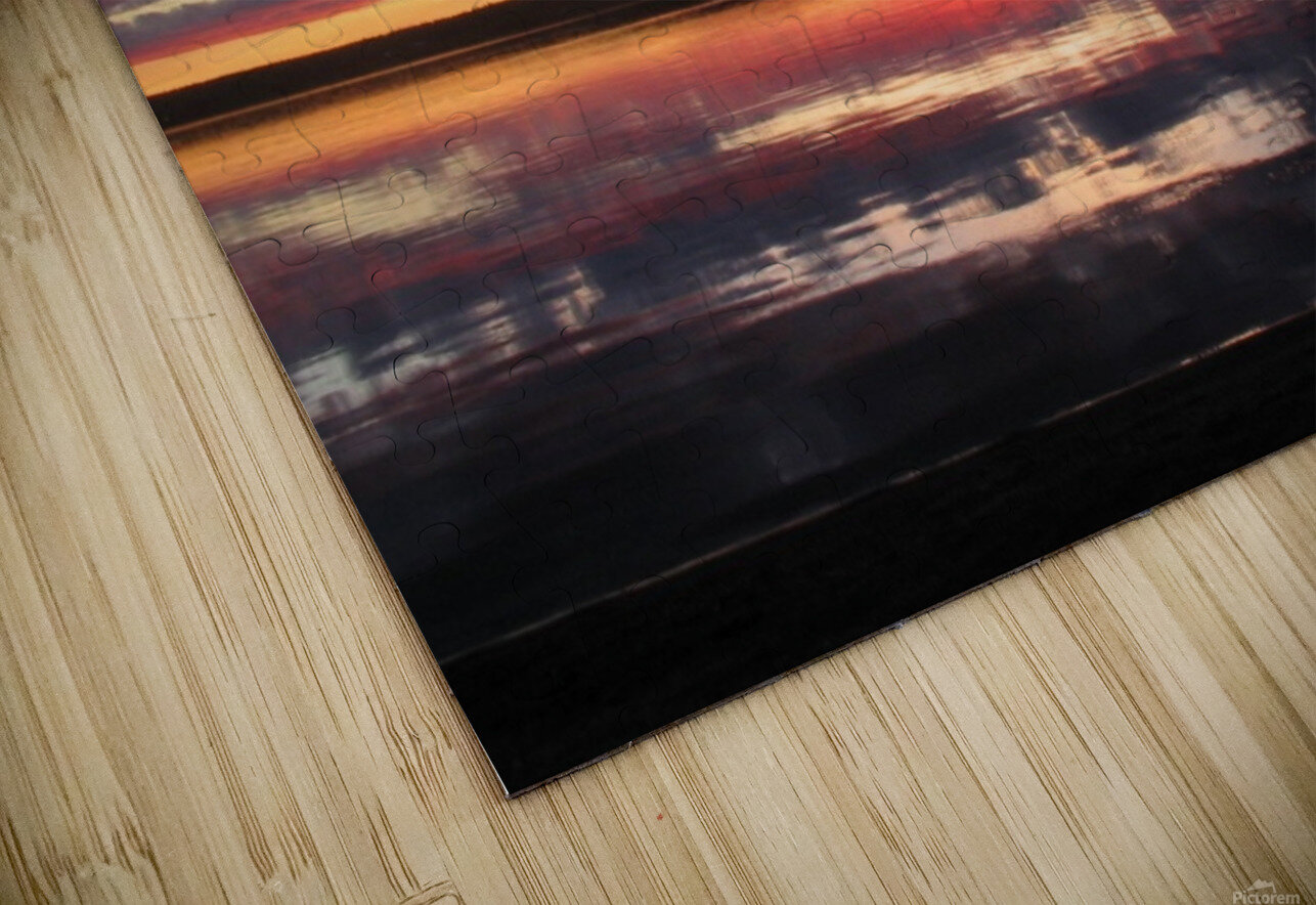 Sunset GL HD Sublimation Metal print