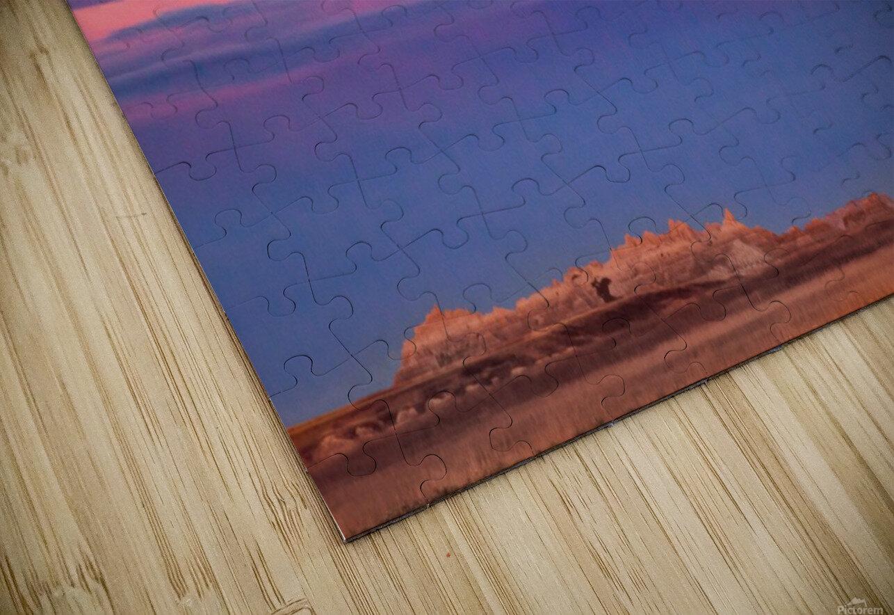 Light Banding HD Sublimation Metal print
