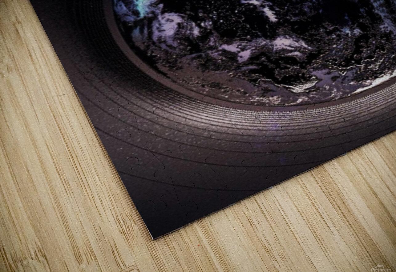 Cosmic Sapphire HD Sublimation Metal print