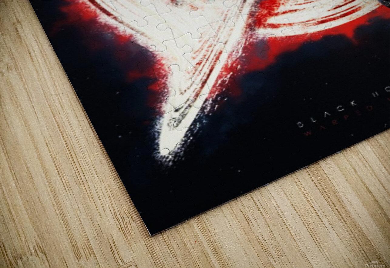 Black Hole HD Sublimation Metal print