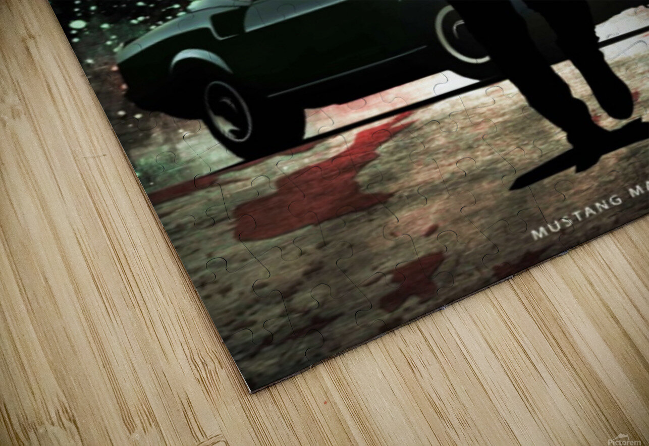 John Wick HD Sublimation Metal print