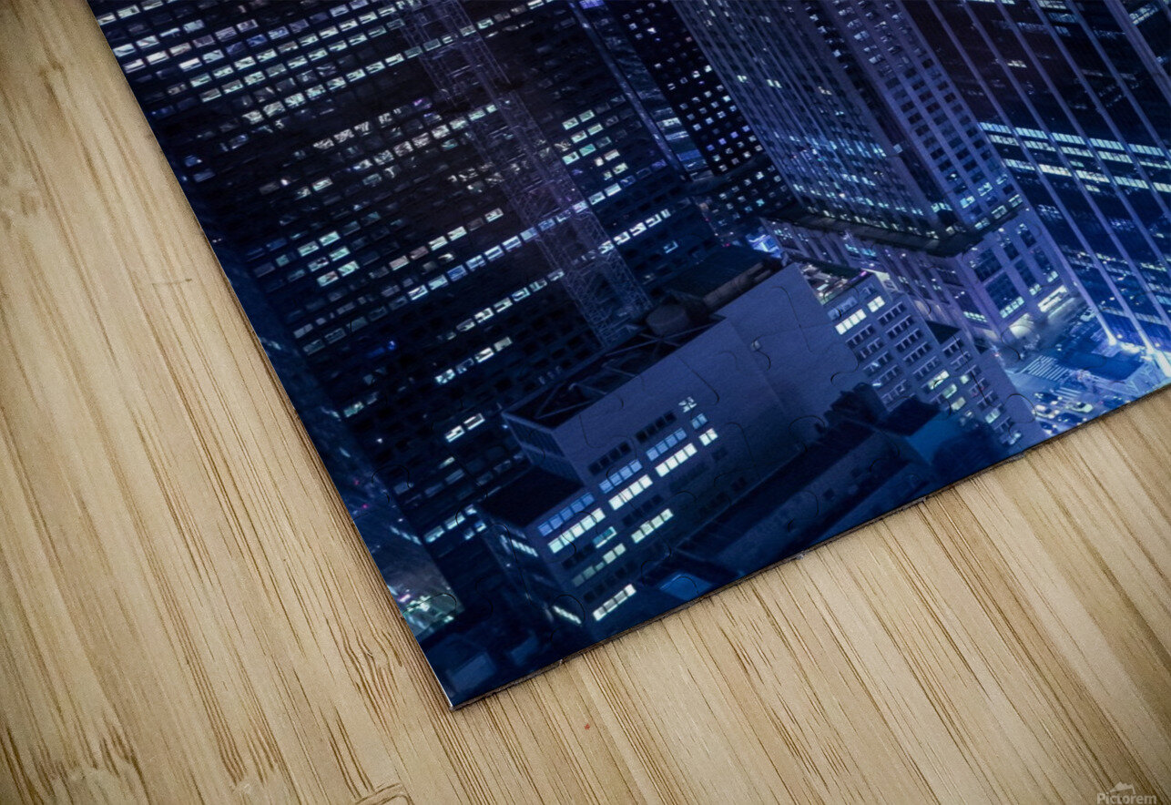 The Grid HD Sublimation Metal print